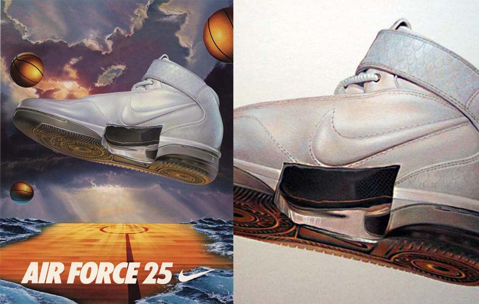 Nike Nemo Design Air Force One Sneaker Illustration