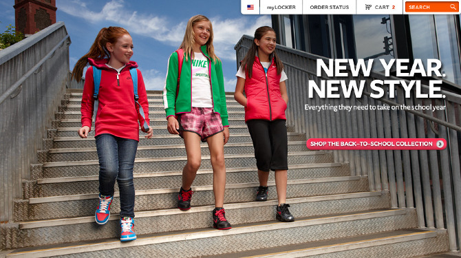 Heading back to school means starting off in style with a fresh look. Liven up your wardrobe for and get excited to hit the halls with the latest back to school shoes and clothing from Finish Line. From sneakers to backpacks to athletic gear, you'll find the hottest back to school trends to upgrade your look.