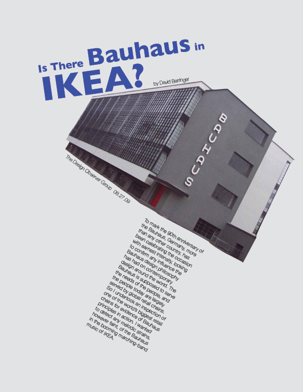 bauhaus typography essay The bauhaus the bauhaus was an art school in the bauhaus essay which could range from architecture to furniture design to typography.
