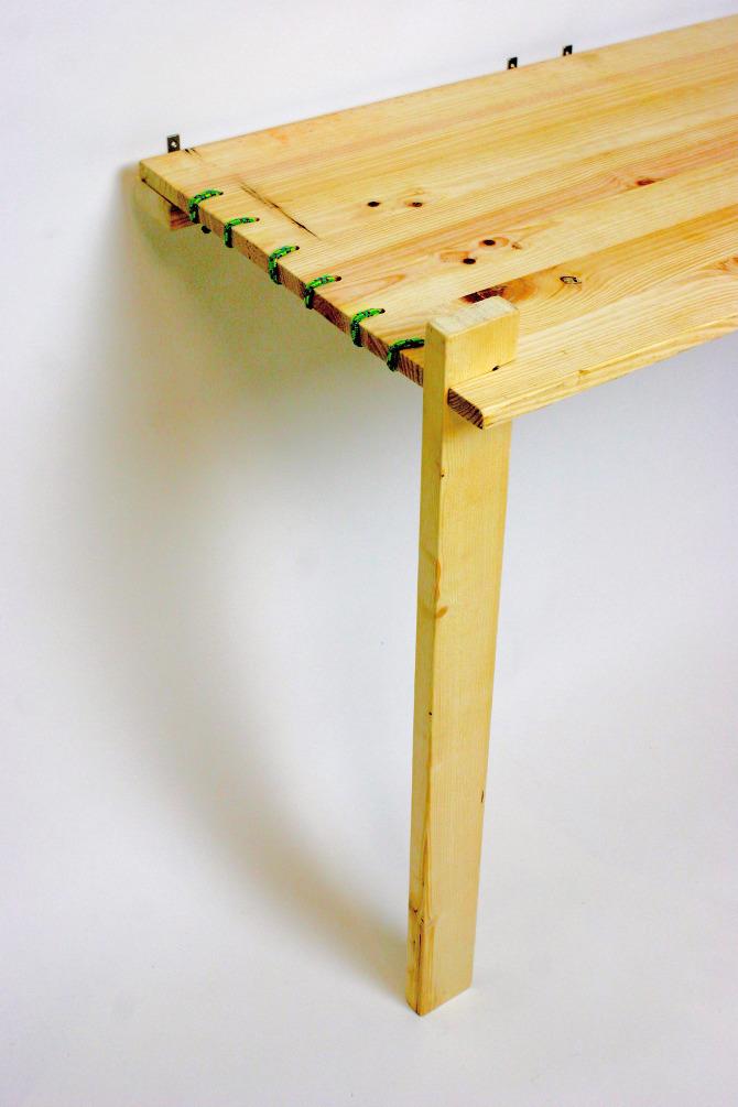 Como hacer una mesa abatible mesa plegable de comedor - Como hacer una mesa abatible ...